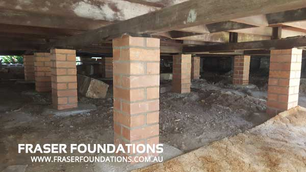 Fraser Foundations - Pier Replacement AFTER - Sydney - Newcastle