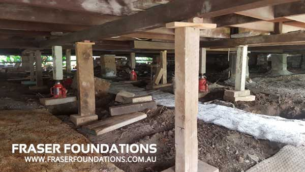Fraser Foundations Relevelling Pier Replacement Sydney & Newcastle